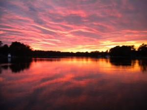 10.09 sunset